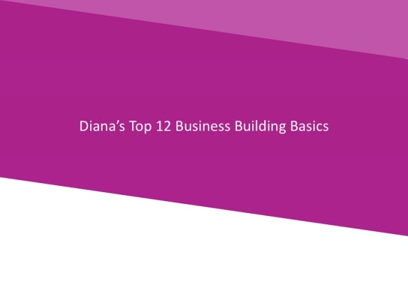 Business Building Basics