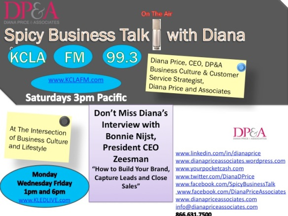 Diana's Spicy Business Talk